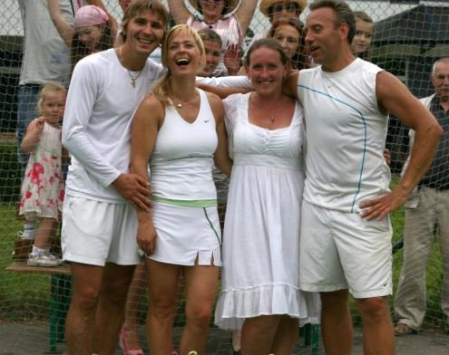 Mixed Doubles Tournament in Wimbledon style