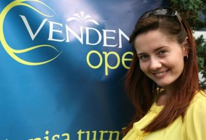 Первый женский одиночный турнир Venden Open