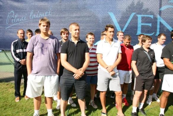Мужской одиночный турнир Venden Open